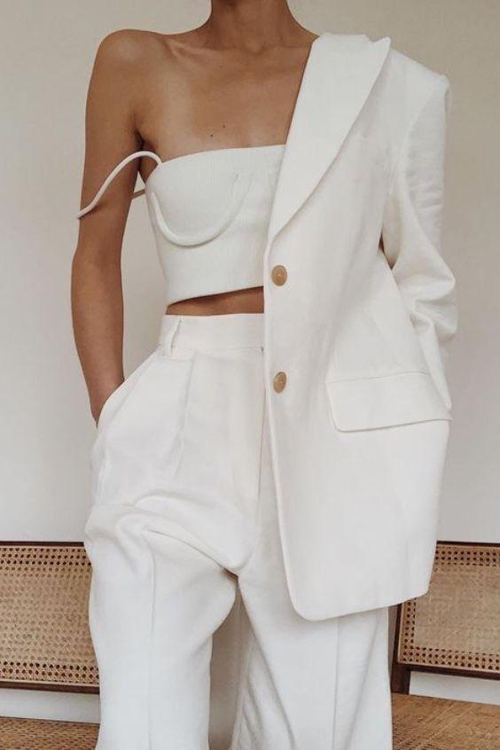 Photo of Sådan bruges hvide pletterede bukser med høj talje denne sommer – #Die …