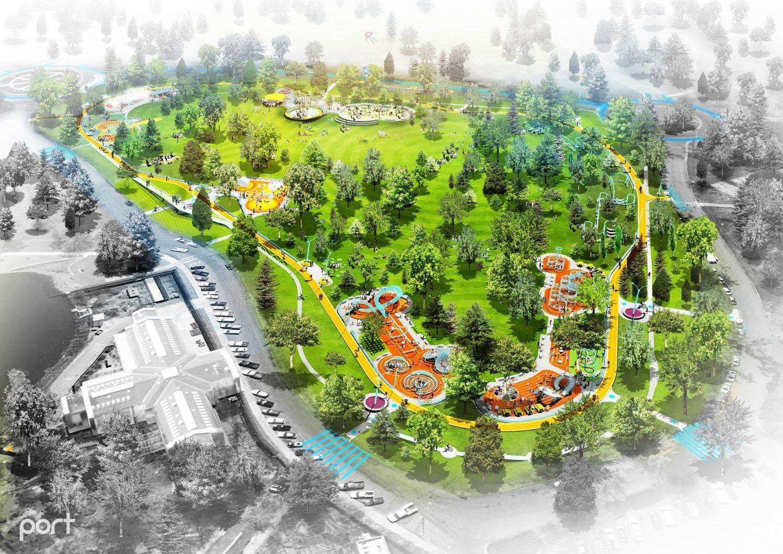 Denver City Park City Loop Port Urbanism Denver City Park City Landscape Architecture Graphics