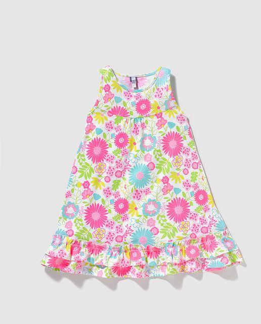 4e56214d1 Vestido de niña Freestyle con estampado de flores