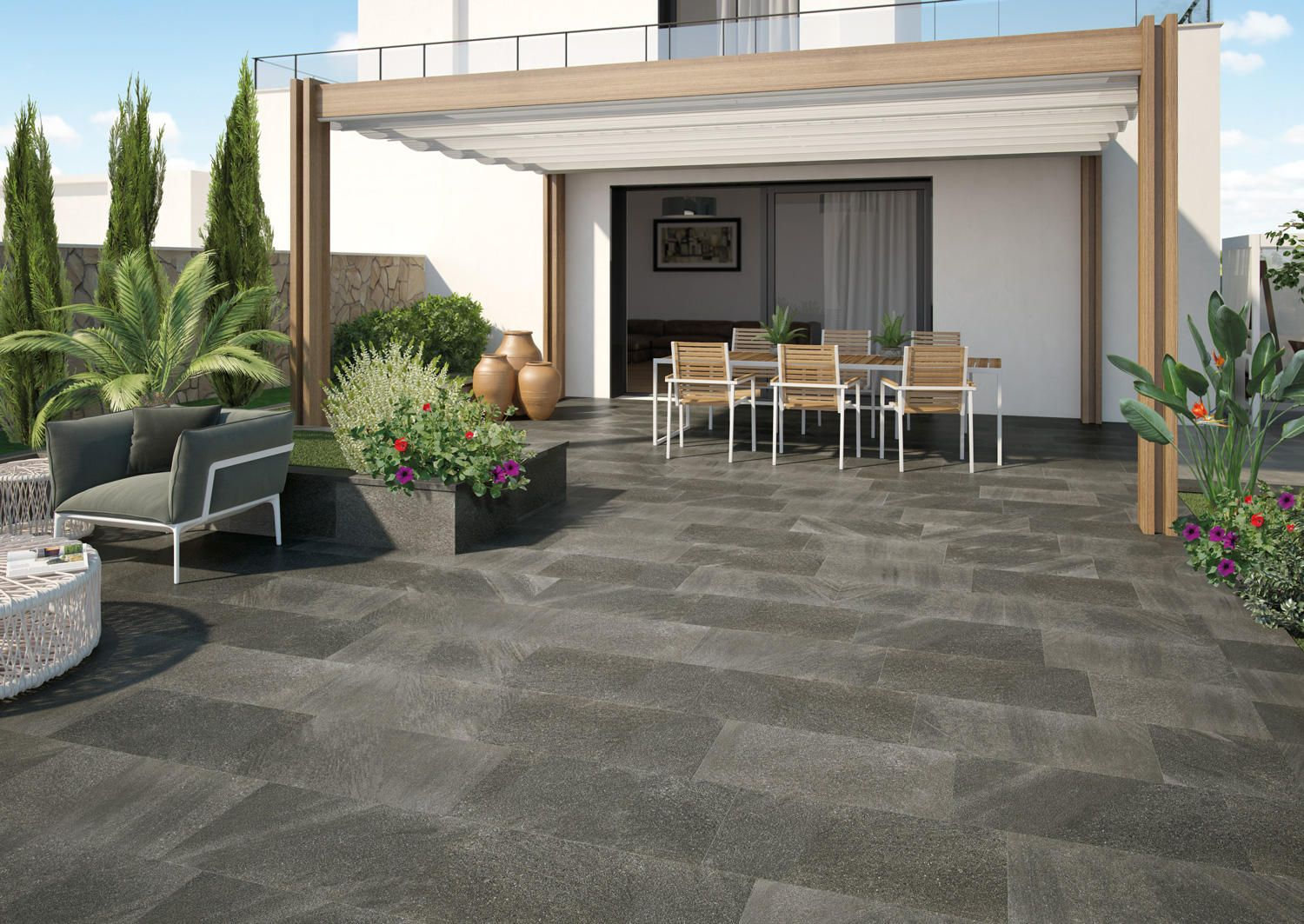 stromboli light de ceramica mayor exteriores pinterest On ceramicas para patios y terrazas