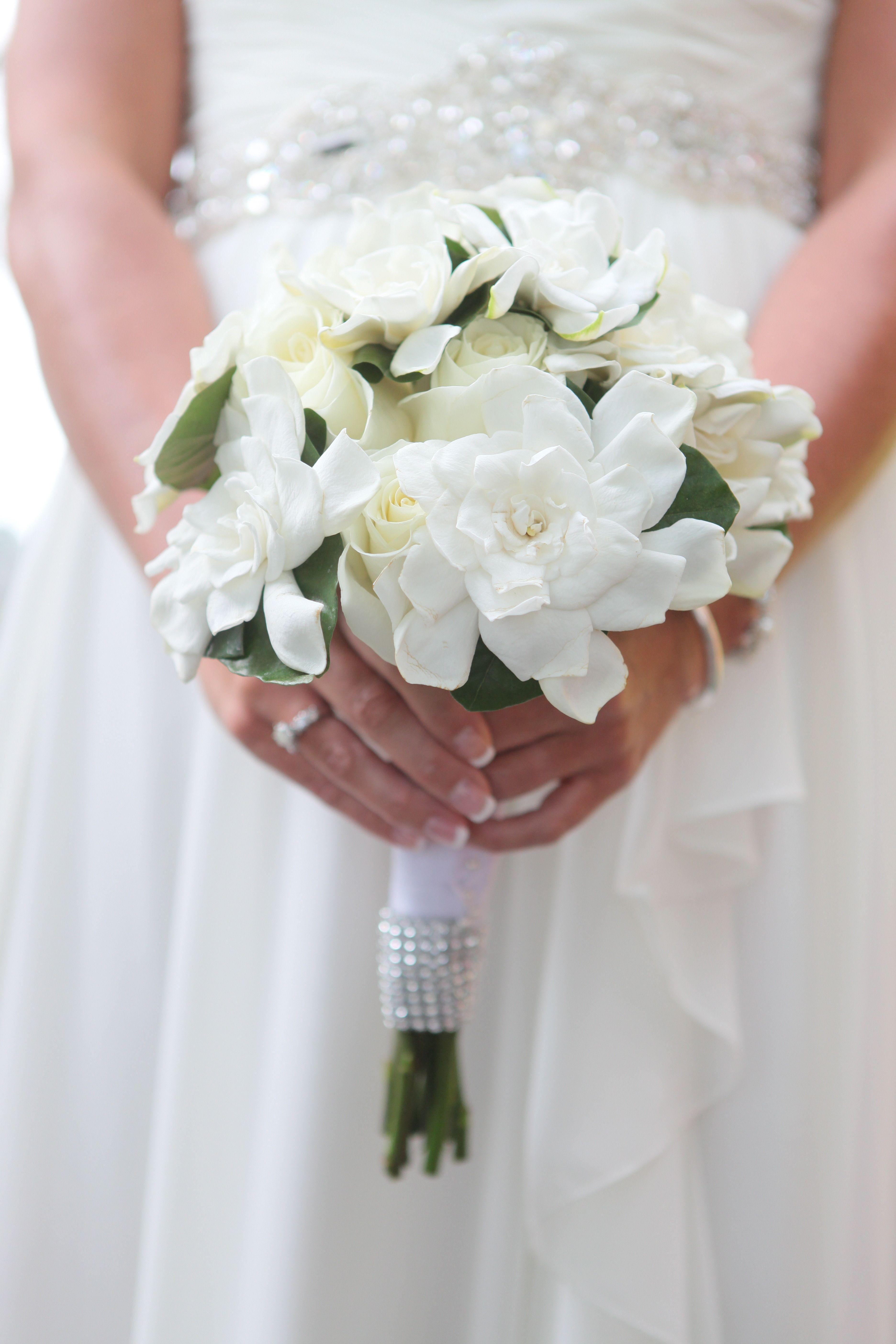 Букет невесты из гардении