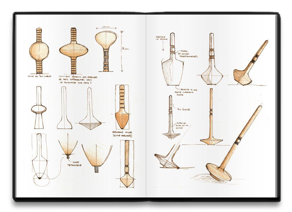 Le Industrial Design la kermesse du design projet dessine moi une quille sketches and