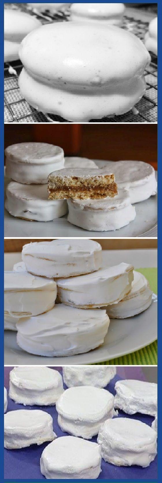 Cómo Hacer Alfajores Glaseados Mmm Alfajores Glaseados Glasa Glase Alfajor Dulces Cheesecake Postres Dulces Tips Cake Sweet Recipes Desserts Food
