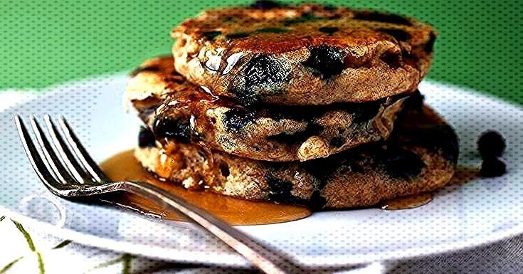 Die Zugabe von gekochter Quinoa zu meinem normalen Buttermilch-Pfannkuchenteig führt zu ... -
