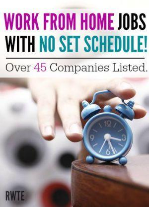 no set schedule 45 companies