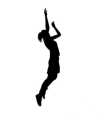 girl basketball player clipart clipart panda free clipart images rh pinterest com Cartoon Girl Basketball Player girl player basketball clipart black and white