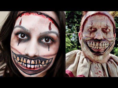 AHS Twisty the Clown Makeup Tutorial   Mirella Belle YouTube ...