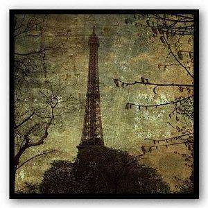 (12x12) John W. Golden Eiffel Tower Art Print Poster (Kitchen) http://www.amazon.com/dp/B003YCL1AE/?tag=wwwmoynulinfo-20 B003YCL1AE