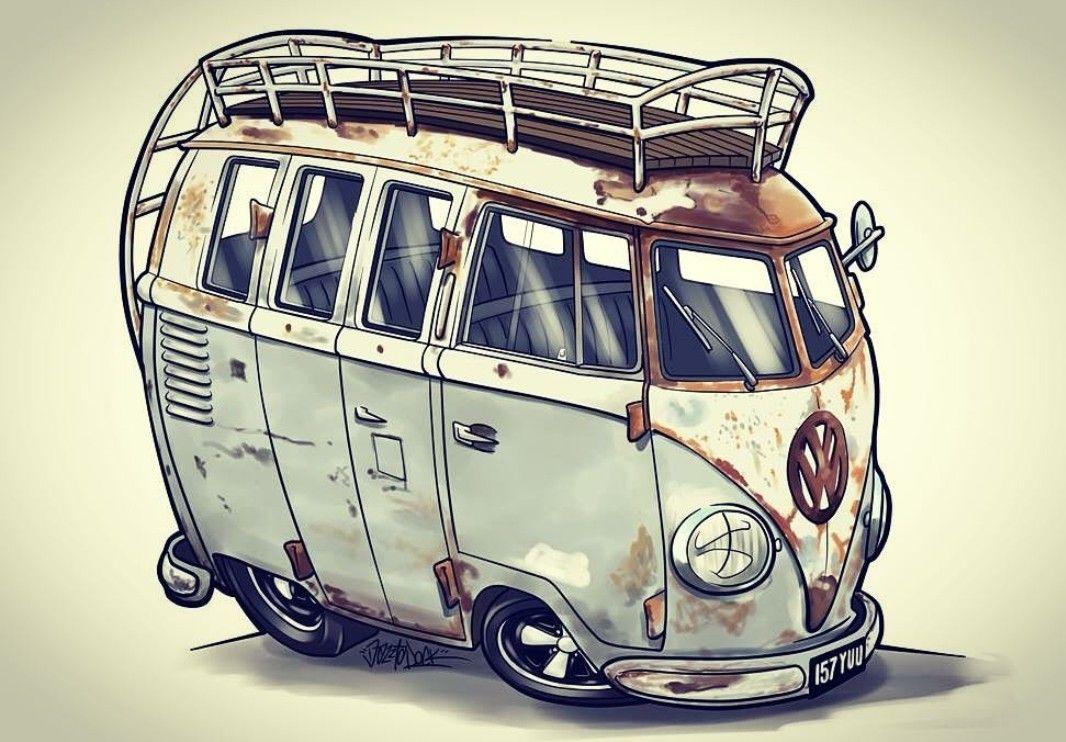 Pin von Francisco Varela auf VW Bus | Pinterest | alte Autos, Autos ...