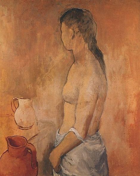 Torse de Jeune Fille - 1906 Pablo Picasso