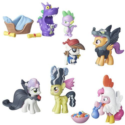 My Little Pony Nightmare Night Set Scootaloo Applebloom Pipsqueak Pinkie Spie My Little Pony Games Nightmare Night My Little Pony Friendship
