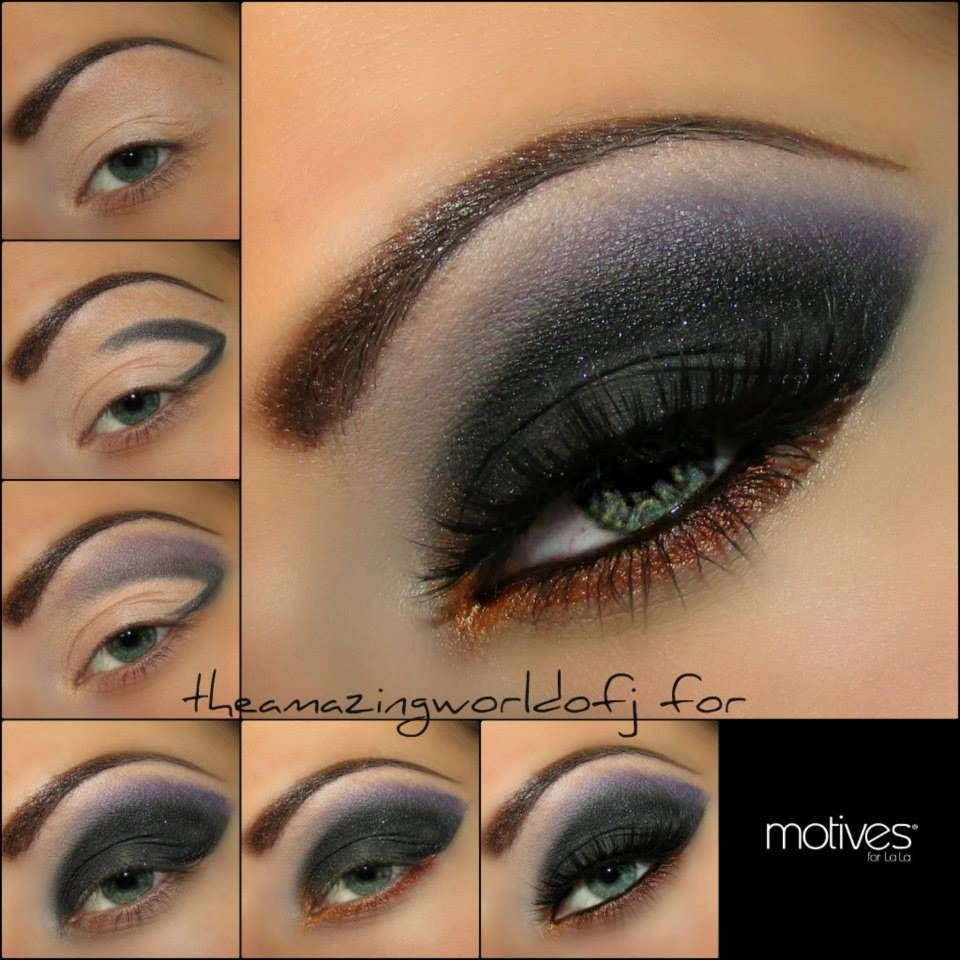 Arabic eye makeup tutorial smokey eyes arabic fashion arab arabic eye makeup tutorial smokey eyes arabic fashion baditri Image collections