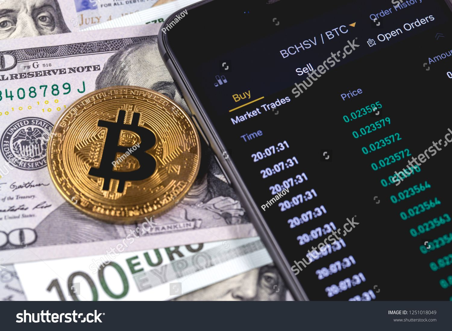 cryptocurrency and stock market