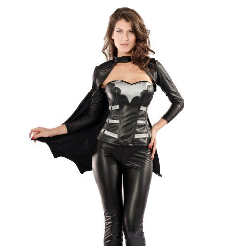 Halloween Batwoman Black Leather Cosplay Costume (M) HAPPY BAG http://www.amazon.com/dp/B00JZJAMI2/ref=cm_sw_r_pi_dp_00Wnub1JXD27Z