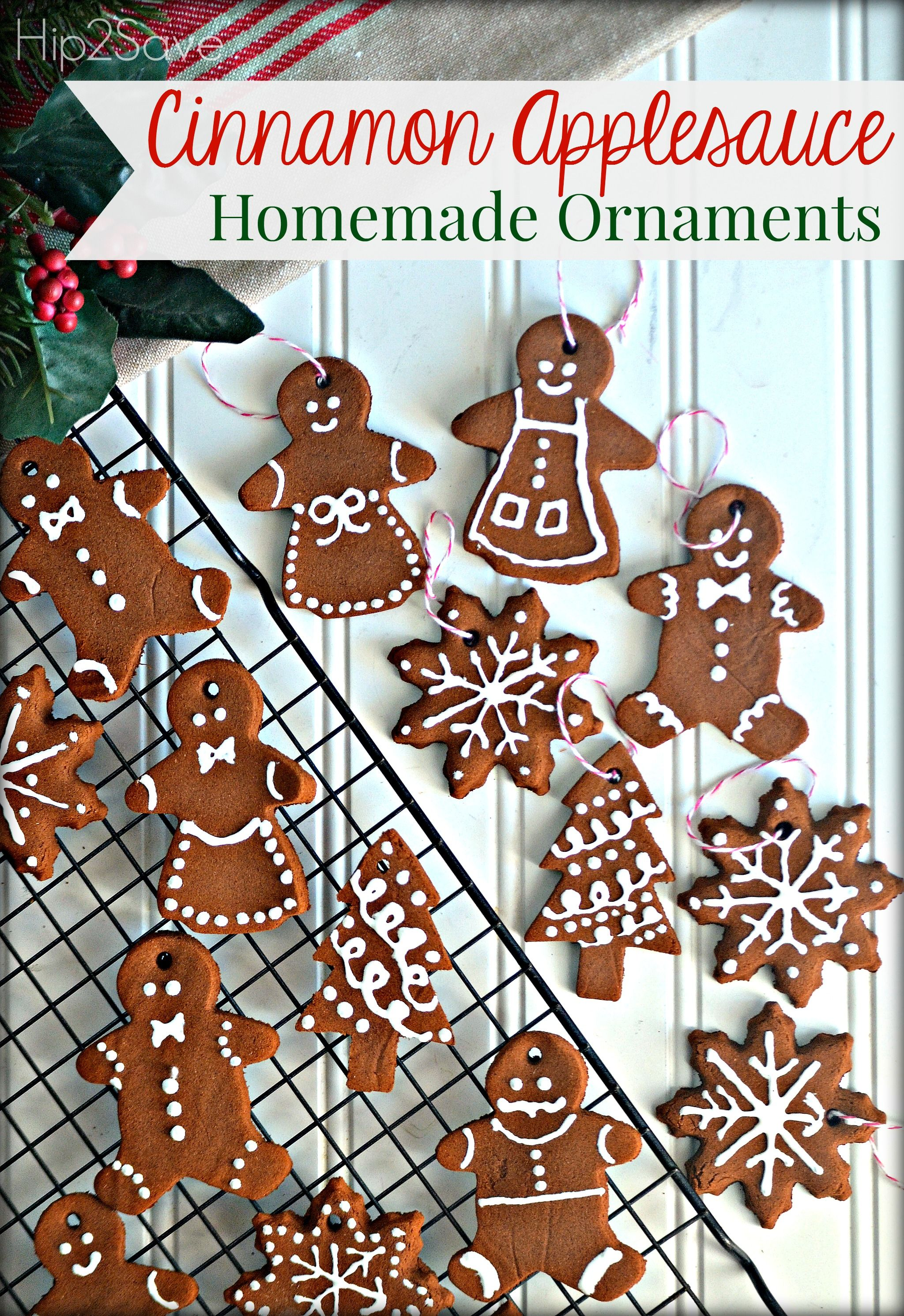 Neat and easy Christmas ornament project using cinnamon ...