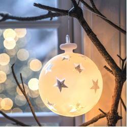 Reduzierte Beleuchtete Weihnachtskugeln #weihnachtsdekoimglasmitkugeln Vega Led Leuchtkugel L SiriusSirius #weihnachtsdekoimglasmitkugeln