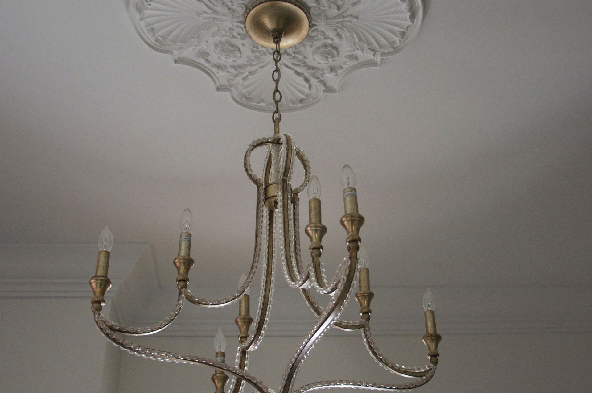 what size full for class chandelier medallion foyer chandelierawesome ceiling need make on own hanging trgn plate medall contemporary lights chandeliers of light fixture your crystal