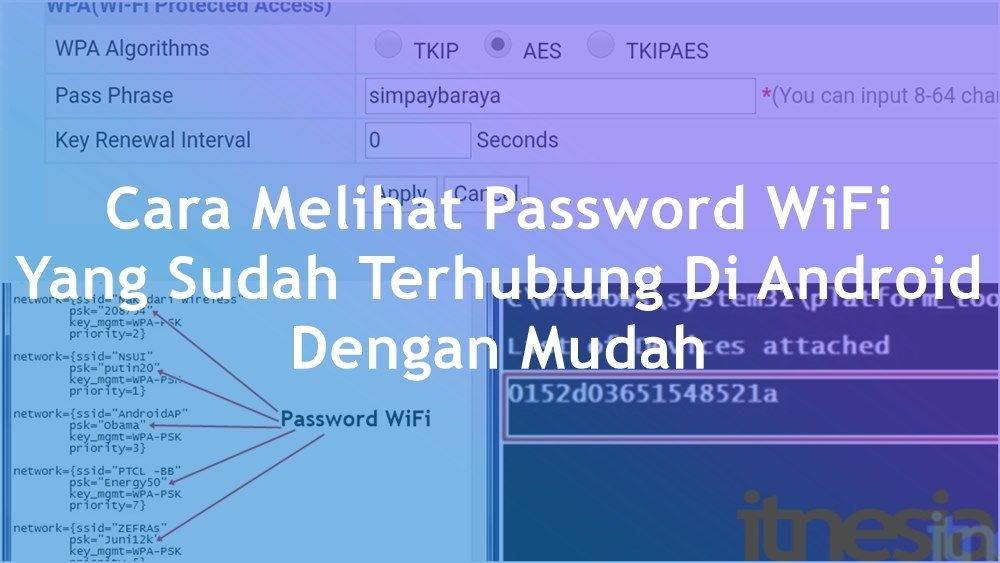 2 Cara Melihat Password Wifi Yang Sudah Terhubung Di Android Android Mgmt Hubungan
