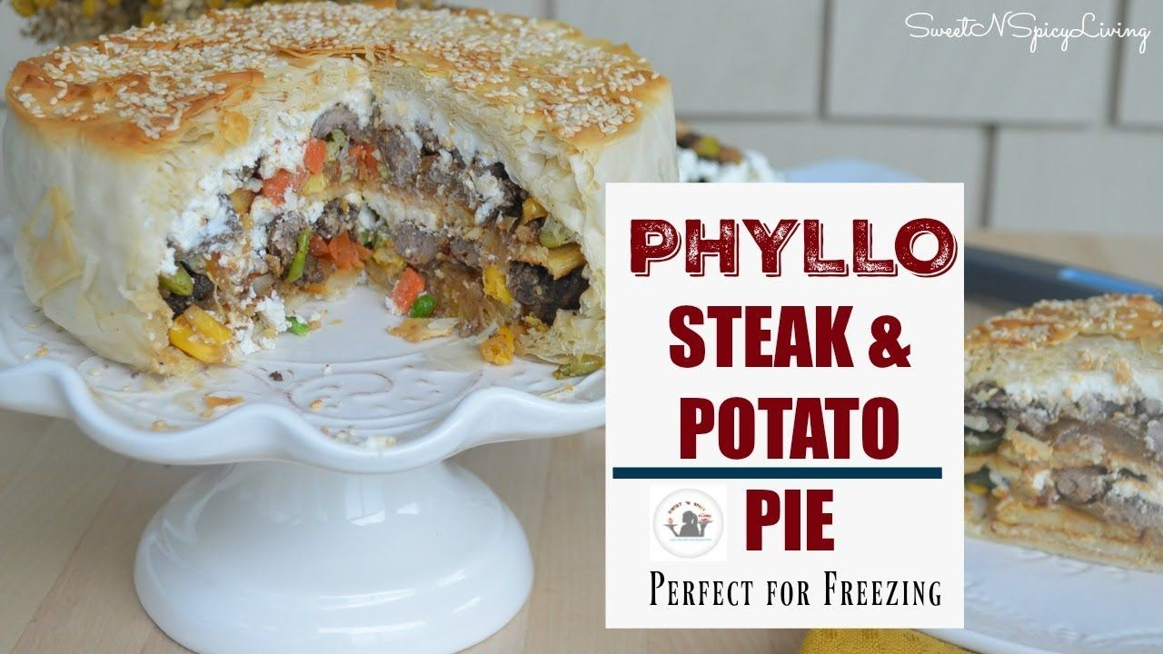 Phyllo Steak and Potato Pie (EP# 40) | Braised beef, Beef ...