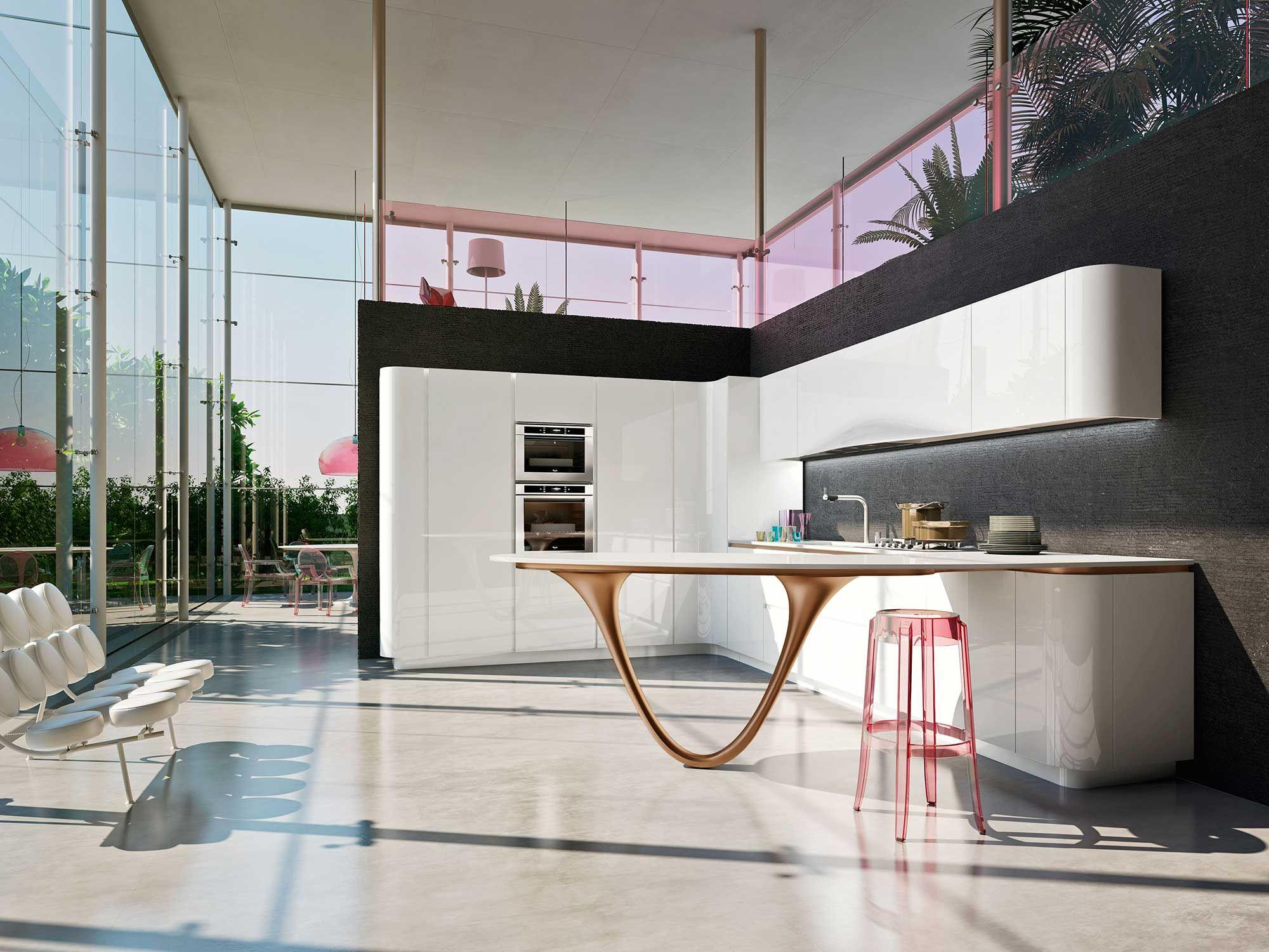 Modern Kitchen Designs | OLA 25 Modern Kitchen | Snaidero USA ...