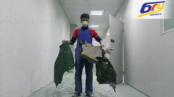 Sửa chữa nền epoxy tại nhà máy sản xuất thiết bị dây dẫn điện - Bắc Ninh