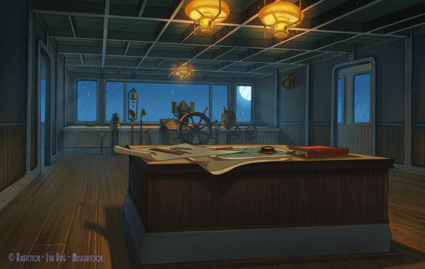 Jules Verne - Color background by Andrea Pucci, via Behance