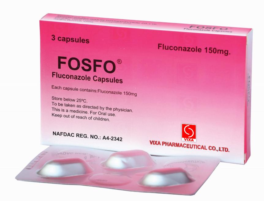 COMPOSITION – Fluconazole capsule 150mg INDICATION – used to