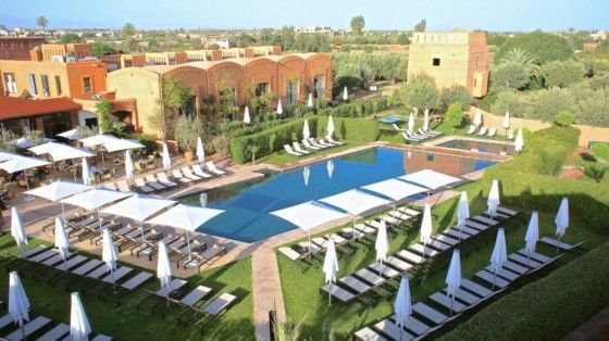piscine adama-resort-marrakech voyage Pinterest Marrakech - location de villa a agadir avec piscine