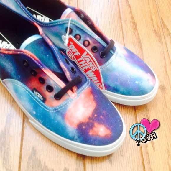☮ Cosmic Galaxy 'VANS' ☮ VANS ☮ Cosmic Galaxy Lo Pro ☮ Size W8.5 ☮ New in Box NWT  ☮ Each pair Unique ☮   NO TRADE Vans Shoes Sneakers