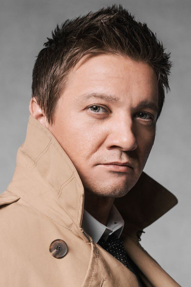 Jeremy Renner by Jeff Vespa 'The Art of Discovery Hollywood Stars Review Their Inspirations' 2014