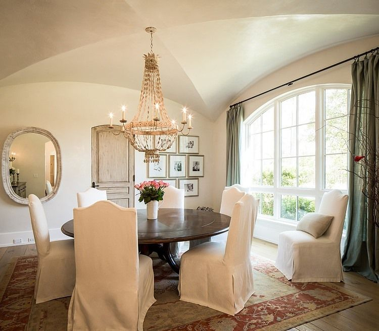 126 Custom Luxury Dining Room Interior Designs: Houston Residence By Thompson Custom Homes