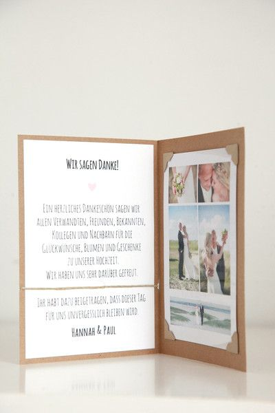 Dankeskarten Hochzeit Diy
