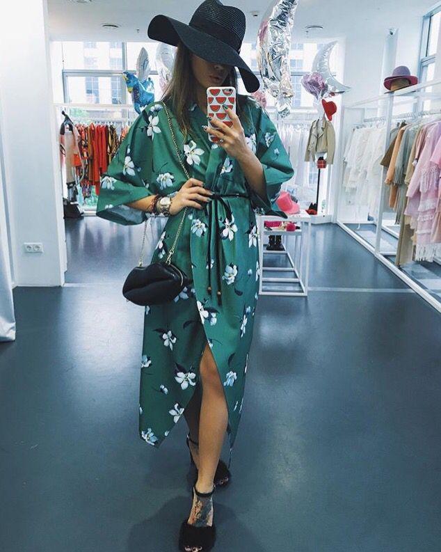 Платье Япония мистик
