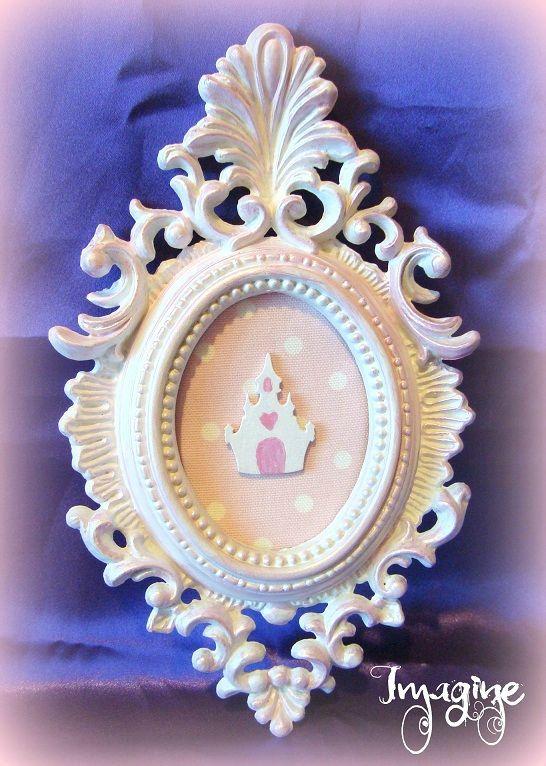 cadre baroque chateau rose Cute Pinterest Cadre photo - installer un cadre de porte