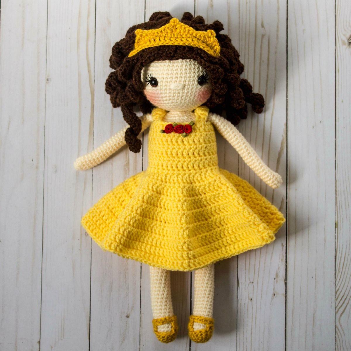 Free Crochet Doll Pattern- The Friendly Sophie | Puppen, Puppe und ...