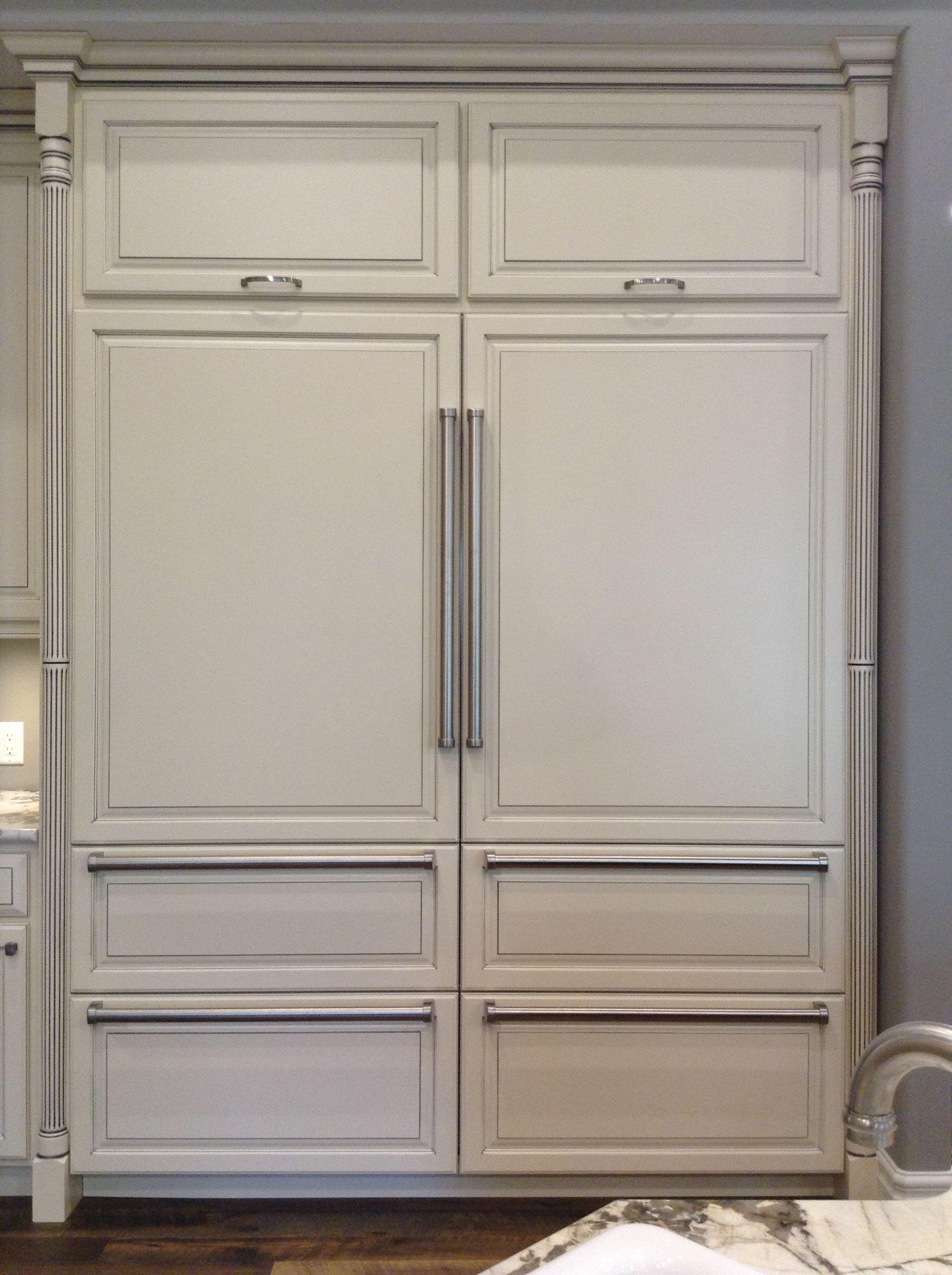 Refrigerator That Looks Like Cabinet