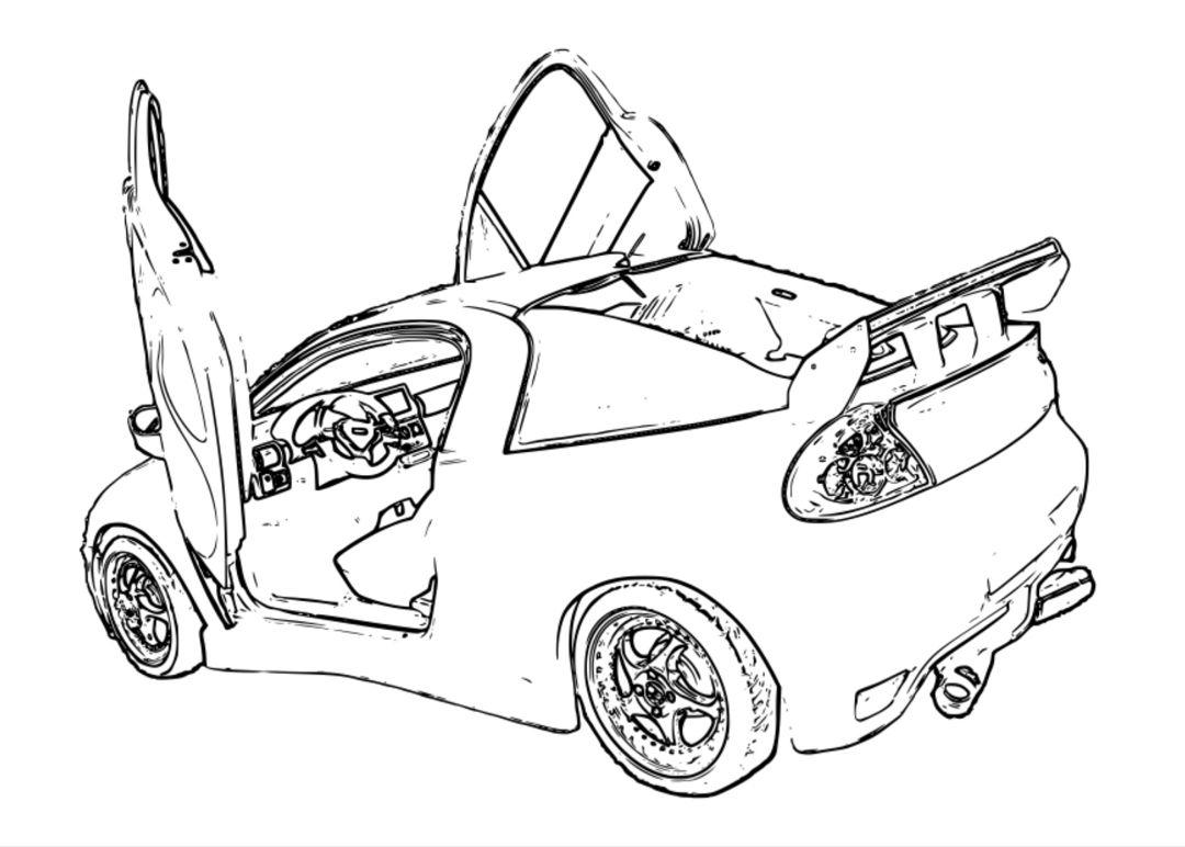 30 Desenhos De Carros Para Imprimir E Colorir Com Imagens