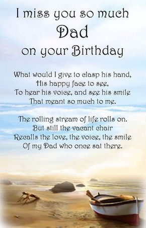 Happy Birthday Dad In Heaven Quotes Poems Pictures From Daughter B