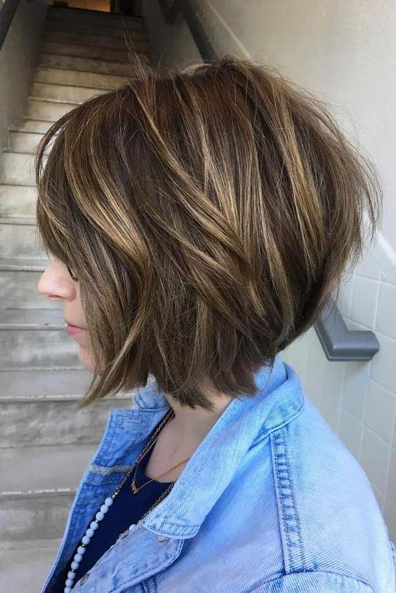 Stacked Bob Hairstyle 21 Best Stacked Bob Hairstyles Ideas For 2018  2019  Pinterest