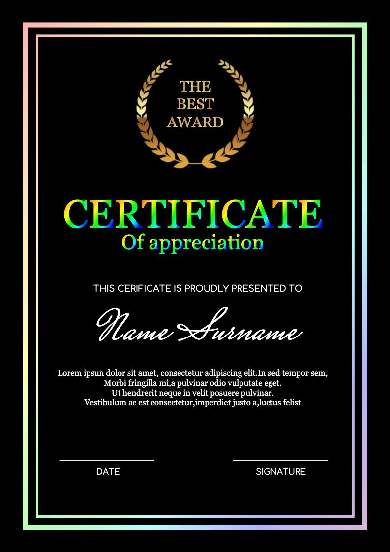 Free Certificate Maker Online Graphic Design Graphic Design Software Business Graphics Free online certificate maker software
