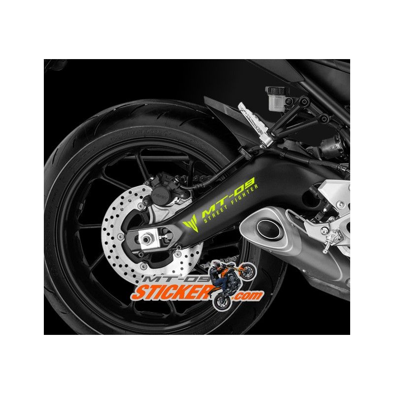 Yamaha MT Swingarm Sticker Decals Graphic Kit MT Stickers - Decal graphics for motorcyclesmotorcycle gas tank customizable stripes graphics decal kits