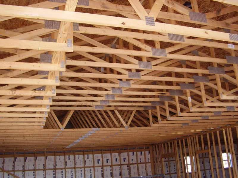 RoofingScissor Truss Pictures And Designs With Fine Wood