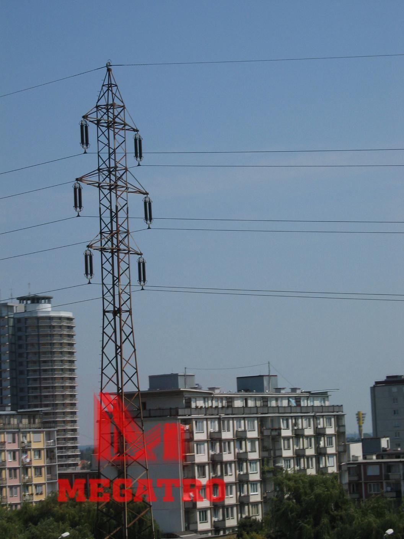 Megatro Provide 35kv Double Circuit Tangent Transmission Lines