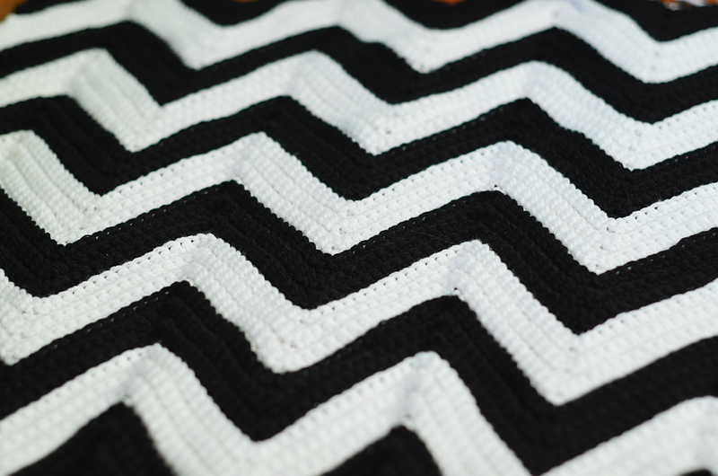 chevron crochet afghan pattern My grandma made me one of these when ...