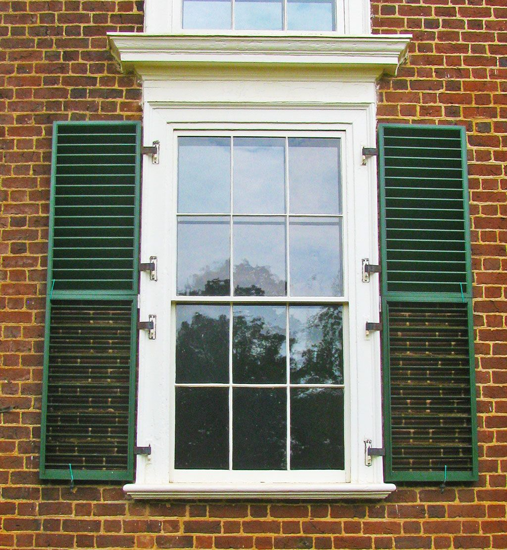 fixed louved shutters monticello home improvement