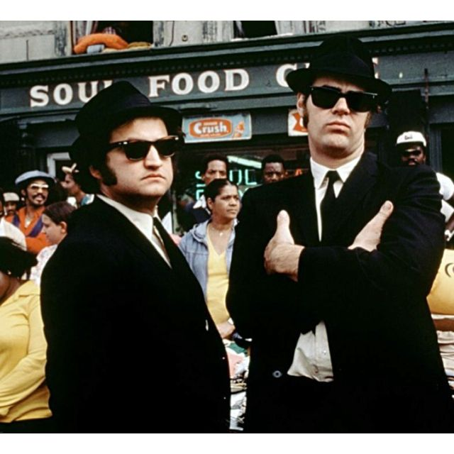 106 Miles To Chicago Blues Brothers Quote: Awesome 80s Costume Ideas