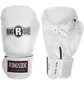 Black 12 oz. Ringside Boxing Bag Gloves Fitness Workout Training Gloves