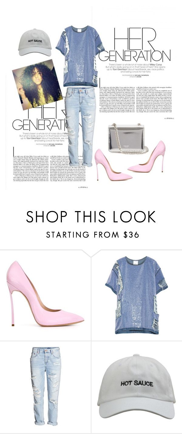 """""""fash inn"""" by apess ❤ liked on Polyvore featuring Casadei, Ashish and Rochas"""