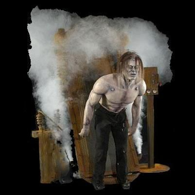 Frankenstein's Assault - Our all new massive Frankenstein shakes violently as he is jolted to life. Just when you think it's all over, he bolts forward. Includes decorated table and digital sound.