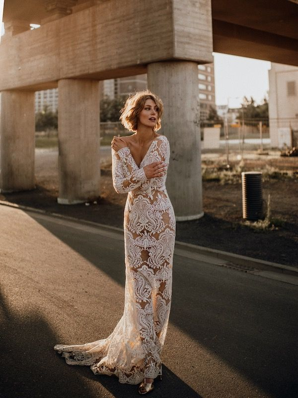 wonderfull bridal dresstara lauren, harlow gown dress